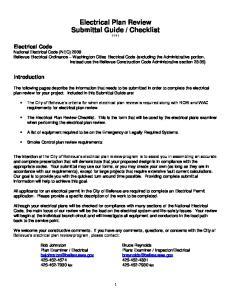 Checklist 11-11