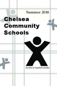 CHELSEA 2016 COMMUNITY SCHOOLS