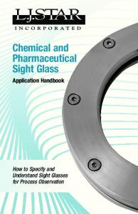 Chemical and Pharmaceutical Sight Glass Application Handbook