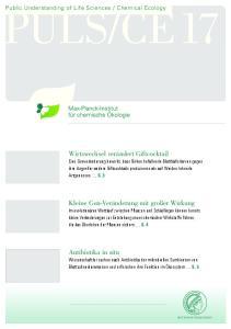 Chemical Ecology. Newsletter April 2011