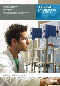 chemical engineering AT CURTIN