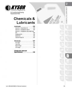 Chemical & Lubricant. Chemicals & BUS