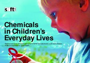Chemicals in Children s Everyday Lives