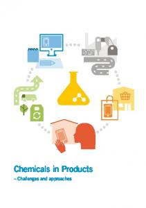 Chemicals in Products. Challenges and approaches