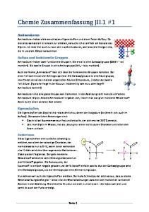 Chemie Zusammenfassung JII.1 #1
