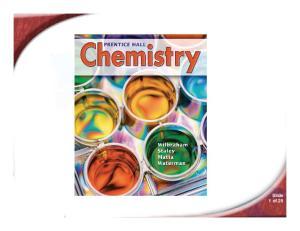 chemistry Slide 1 of 25
