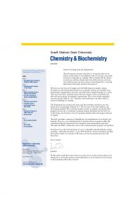 Chemistry&Biochemistry Fall 2011