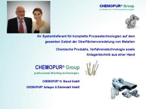 CHEMOPUR Group professional finishing technologies