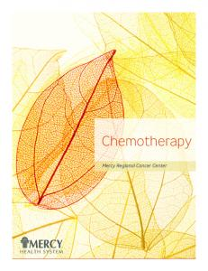 Chemotherapy. Mercy Regional Cancer Center