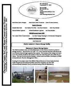 Chemung County Soil and Water Conservation District
