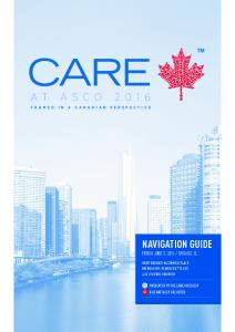 CHICAGO, IL PRESENTED BY THE CARE ONCOLOGY & HEMATOLOGY FACULTIES