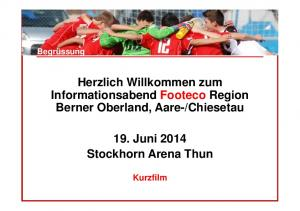 Chiesetau. 19. Juni 2014 Stockhorn Arena Thun