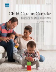 Child Care in Canada: