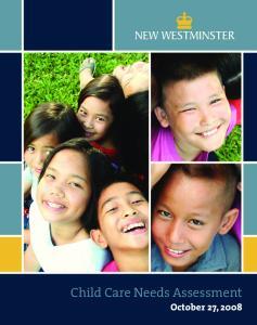 Child Care Needs Assessment