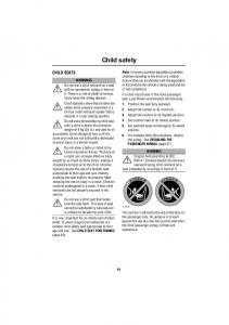 Child safety CHILD SEATS