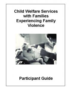 Child Welfare Services with Families Experiencing Family Violence