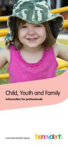 Child, Youth and Family. Information for professionals