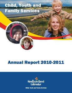 Child, Youth and Family Services