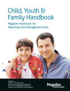 Child, Youth & Family Handbook