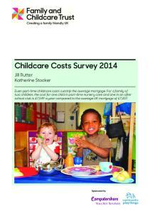 Childcare Costs Survey 2014