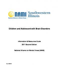 Children and Adolescent with Brain Disorders