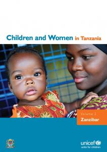 Children and Women in Tanzania