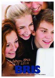 Children, Bris and IT 2014