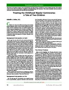 Children for whom the differential diagnosis includes