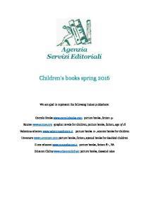 Children s books spring 2016