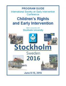 Children s Rights and Early Intervention