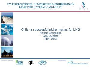 Chile, a successful niche market for LNG