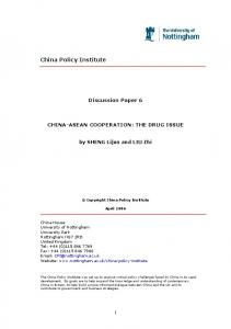 China Policy Institute