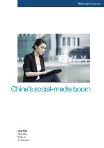 China s social-media boom