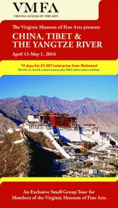 CHINA, TIBET & THE YANGTZE RIVER