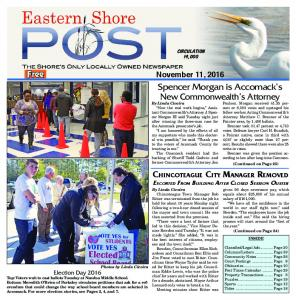 Chincoteague City Manager Removed