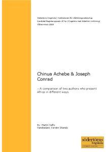 Chinua Achebe & Joseph Conrad