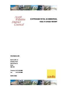 CHIPPENHAM RETAIL & COMMERCIAL HEALTH CHECK REPORT