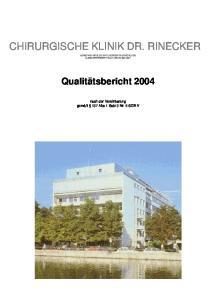 CHIRURGISCHE KLINIK DR. RINECKER