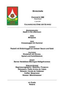 CHOCHETE 386 Roland Straub