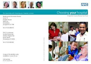 Choosing your hospital