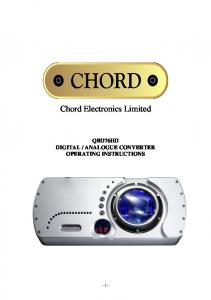 Chord Electronics Limited