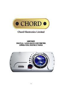 Chord Electronics Limited