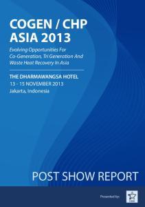 CHP ASIA 2013