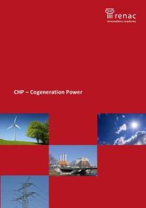 CHP Cogeneration Power