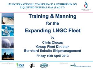 Chris Clucas Group Fleet Director Bernhard Schulte Shipmanagement