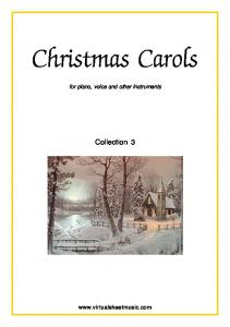 Christmas Carols. Collection 3.  for piano, voice and other instruments