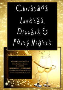 Christmas Lunches, Dinners & Party Nights