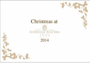 Christmas Parties at Burnham Beeches Hotel