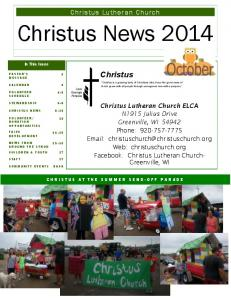 Christus News Christus