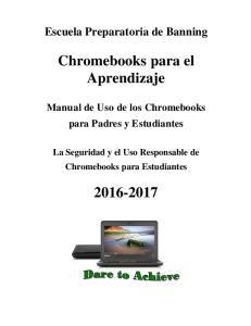 Chromebooks para el Aprendizaje